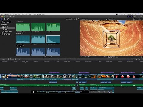 Final Cut Pro X 10.3 Workflow at LACPUG