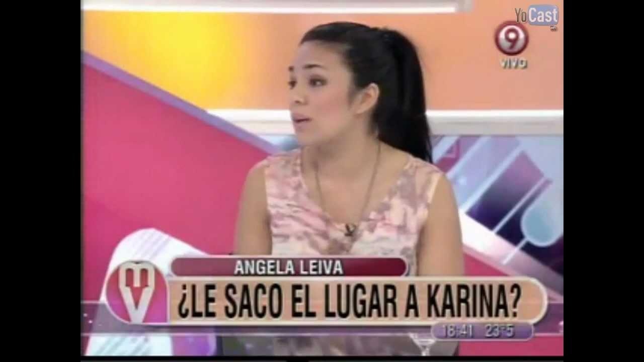 Angela Leiva Hablando De Karina El Monopolio De Los