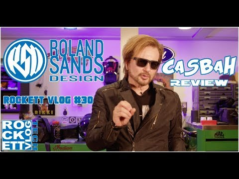 Roland Sands Design Casbah Motorcycle Jacket Review - Rockett Vlog - Episode #30