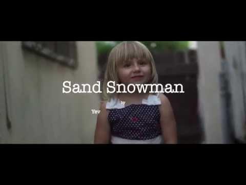 Sand Snowman    2014