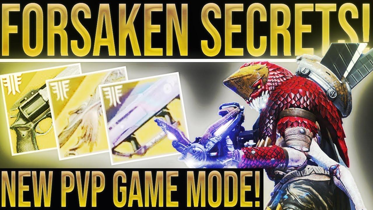 9fc77bf6635 Destiny 2 Forsaken. NEW MOD SYSTEM!