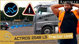 Active Brake Assist Test in my Mercedes-Benz Actros In-Depth Review