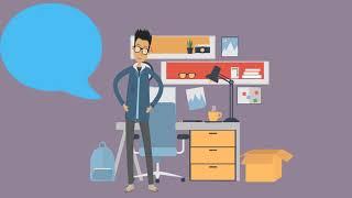 Einfach Animierte, CV/Resume - PowerPoint