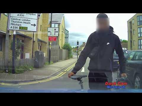 Cyclist Rides into Car - Dash Cam Saves Bogus Personal Injury Claim