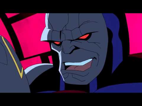 Darkseid gives a Hug