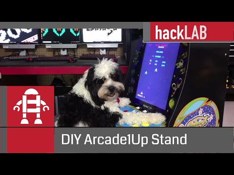 Arcade1Up DIY Riser Stand Galaga