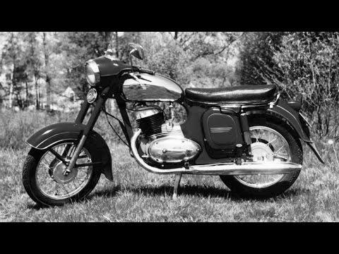 JAWA 250 History