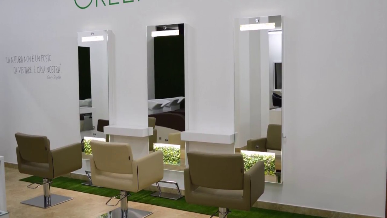 arredamento per parrucchieri green salon muster youtube
