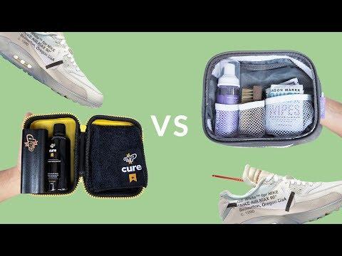 Jason Markk Vs Crep Protect Travel Kit