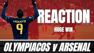 OLYMPIACOS v ARSENAL - POST MATCH REACTION