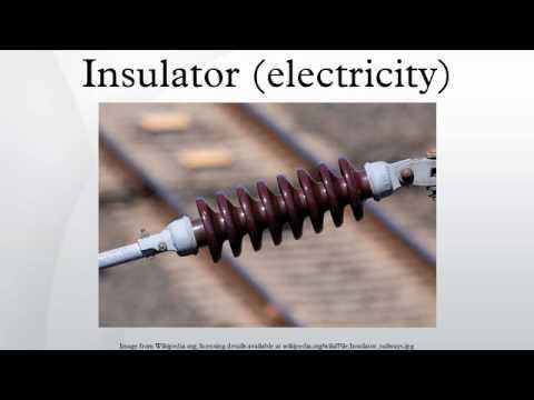 Insulator (electricity)