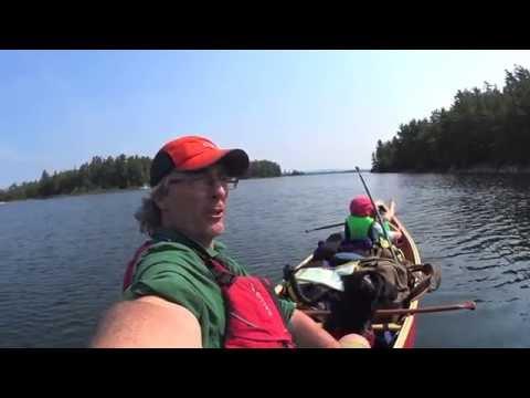 A Canoe Trip Around Killarney - family style (part 1)