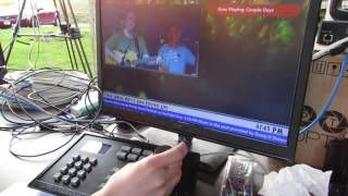 How to use drones for live streaming bands or concerts Audio Syncing