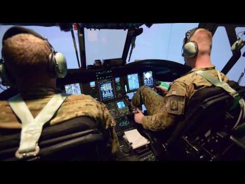 U.S. Army CH-47 Flight Simulator