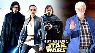 The Last Jedi 3 Hour Cut Is Coming! (Star Wars Explained) Mike Zeroh