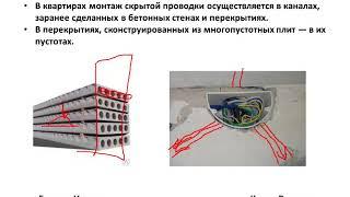 Электрика своими руками урок 19 - Виды скрытого монтажа электропроводки