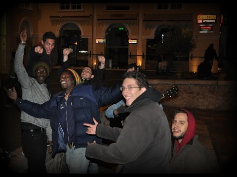 Play us some music! Late-night reggae jam in Athens