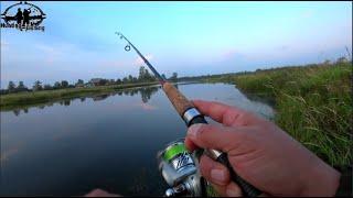 Рыбалка на реке Лобва Окунь на вертушку