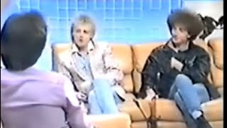 John Deacon and Roger Taylor tv Interview 1984