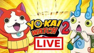 Yo-Kai Watch 2 LIVE - Birthday Bash Wifi Battles