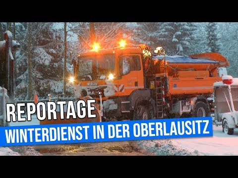 Reportage: So funktioniert der Winterdienst in der Oberlausitz
