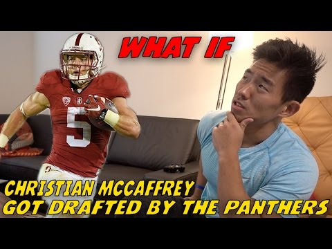 """WHAT IF"" CHRISTIAN MCCAFFREY WAS DRAFTED BY THE CAROLINA PANTHERS!?"
