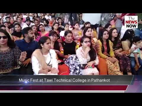 Music Fest at Tawi Technical College in Pathankot. Watch Visuals