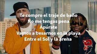 Atrévete Nicky Jam x Sech Lyrics Letra