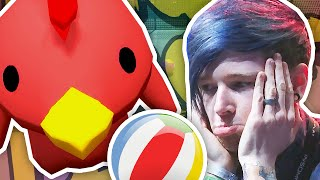 JELLY MAN FOOTBALL!! | Gang Beasts LIVE