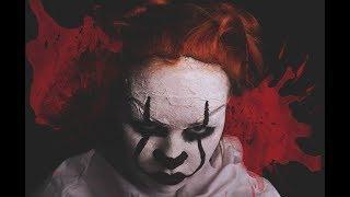Грим на хэллоуин / Макияж клоуна из фильма