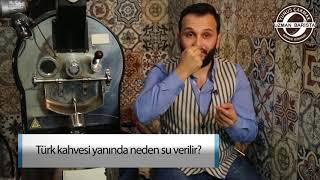 Türk Kahvesi Yanında Neden Su Verilir
