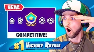 My *FIRST* time playing COMPETITIVE Fortnite!