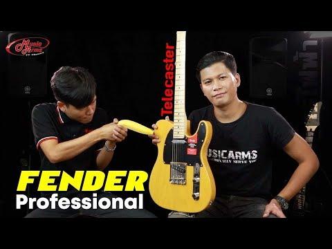 รีวิวกีต้าร์ไฟฟ้า Fender Professional Telecaster (American)