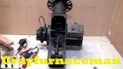 Setting up the oil burner gun assembly, part 3