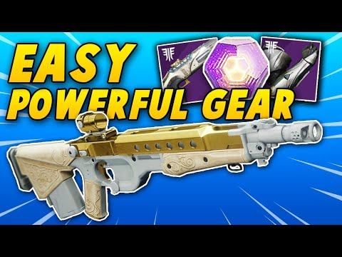 FREE POWERFUL GEAR + EASY WISH ENDER QUEST! - Shattered Throne Cheese (Destiny 2 Forsaken)