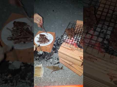 Cách nướng bò một nắng muối kiến vàng - YouTube