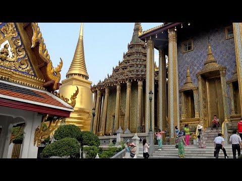 Wat Phra Kaew & Grand Palace, Bangkok, Thailand in 4K (Ultra HD)