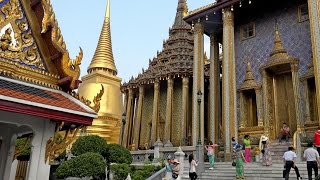 Wat Phra Kaew, or else known as Temple of the Emerald Buddha, is lo...