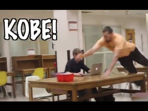 PLAYING DRINKING GAMES IN THE LIBRARY PRANK!!