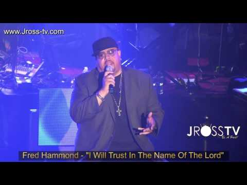 "James Ross @ Fred Hammond - ""I Will Trust In The Name Of The Lord"" -  www.Jross-tv.com"