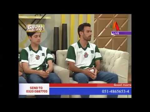 Margallah Football Academy   11 September 2017   ATV  Mehekti Morning