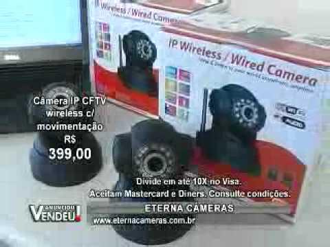 Eterna Loja Virtual: Camera IP, camera CFTV, camera, cameras, camera vigilancia, camera segurança.
