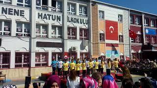 Nene Hatun İlkokulu 23 Nisan etkinliği Bağcılar İstanbul