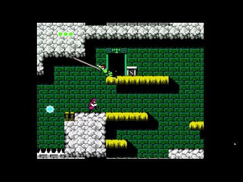 [Commentary] Bionic Commando NES 100% speed run in 20:43!