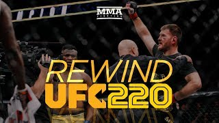 Rewind: UFC 220 Edition - MMA Fighting thumbnail