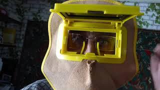 Прикольная маска сварщика.