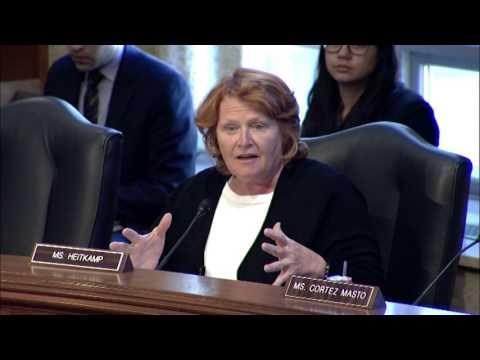 At Senate Committee Hearing, Heitkamp Discuss GAO