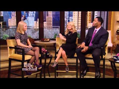 AnnaSophia Robb  Live with Kelly & Michael 14.01.2013  1080