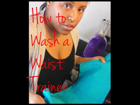 How to Wash Your Waist Trainer or Waist Cincher