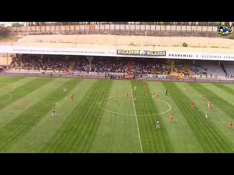 2.Lig Kırmızı Grup 31.Hafta   Bucaspor'umuz 1-0 Afyonspor Maçı   Balkon Çekim Tüm Stat Alfabe
